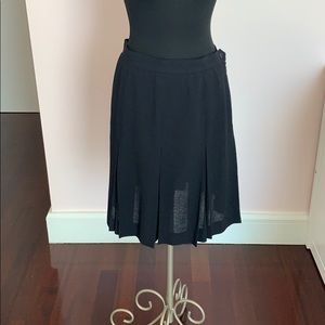 Ysl PERFECT condition pleated  skirt